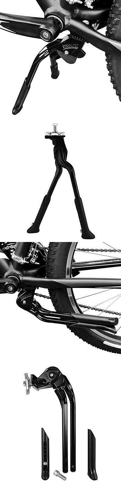 Kickstands 177837: Bv Bicycle Black Adjustable Foldable Double Leg Kickstand Storage Bicycle Bike -> BUY IT NOW ONLY: $30.08 on eBay!