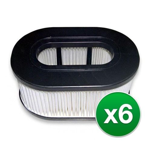 Replacement Vacuum Filter for Hoover Hepa Upright Cartridge Filter Air Filter Model (6-Pack)