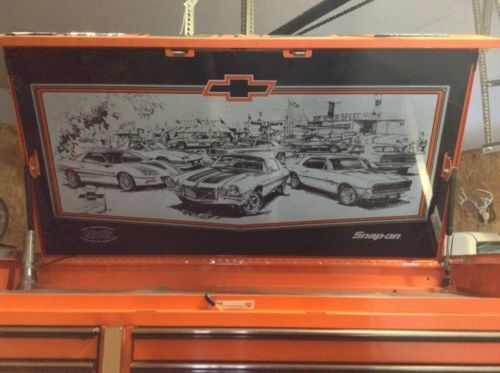 Snap On 35th Anniversary Chevrolet Camaro Ss Z 28 Tool Box