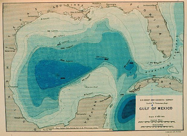 23 best Gulf of Mexico Maps images on Pinterest  Gulf of mexico