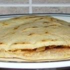 Gorditas are similar to pita pockets but much heartier! Can be stuffed with just about anything! I make them with a mixture of corn masa mix and all-purpose flour.