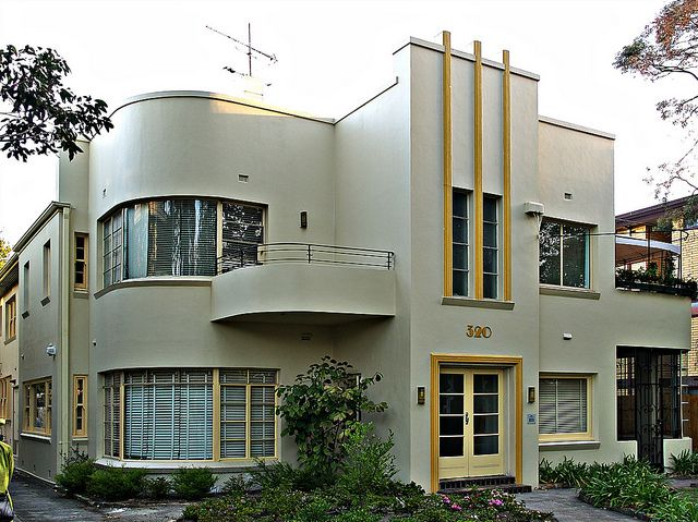 Melbourne Art Deco House by colros, via Flickr