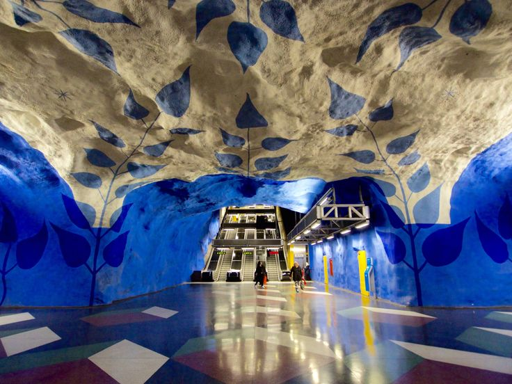 Although Stockholm has no shortage of things to do on the ground level, it does have an underestimated masterpiece hidden deep beneath the 14 islands that make up the famous archipelago. Only the Swedes could make an otherwise rather dull public transit system so riveting; indeed the Stockholm metro has been deemed the world's longest …Continue Reading...