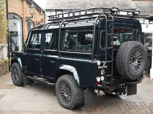 Cars For Sale - 2015 Land Rover Defender 110 Xs Station Wagon With Bowler Fast Road