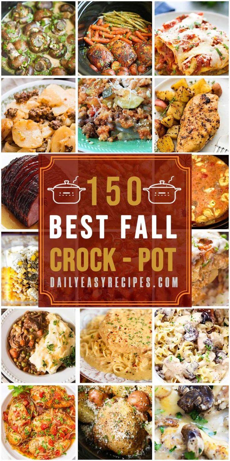150 Best Fall Crockpot Recipes – Daily Easy Recipes