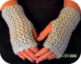 Hand warmer pattern