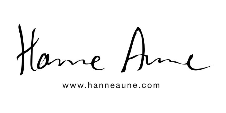 Logo for the design brand Hanne Aune design.