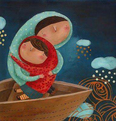 Pinzellades al món: Maternitat: il•lustracions / Maternidad: ilustraciones / Motherhood: illustrations / Maternité: illustrations / Maternitá: Illustrazioni