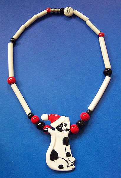 145 best vintage ceramic jewelry images on pinterest for Cat in the hat jewelry