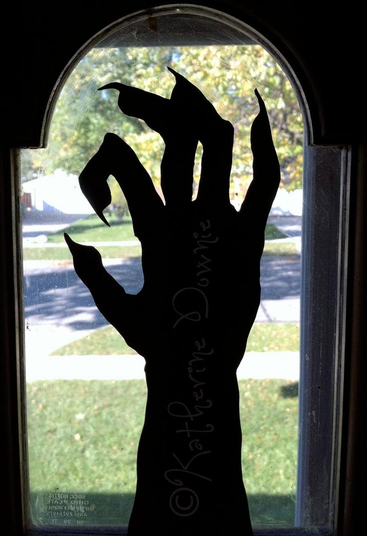 Hand-cut Halloween Silhouettes, Set 3, $12.50 on Etsy!