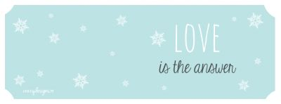 Facebook cover - love is the answer by crazydesigns.ro