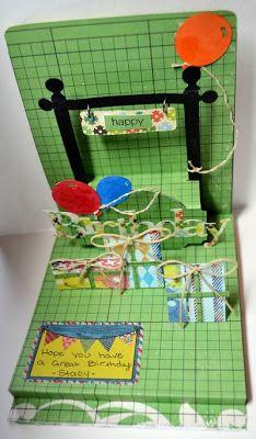 Crop Paper Scissors: Pop-up Birthday Card