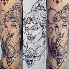 Resultado de imagen para tatuaje murcielago