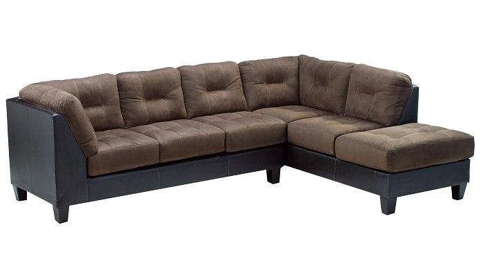 Slumberland furniture raymond collection walnut right - Slumberland living room furniture ...
