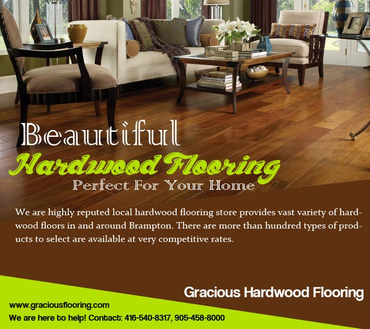 No carpet or other #flooring material feels as rich as a beautiful #HardwoodFloor.  Buy #Beautiful #HardwoodFlooring and #staircase from http://www.graciousflooring.com serving #Brampton #Toronto #Mississauga at #unbeatable_prices.  Phone: 416-540-8317, 905-458-8000  #flooringmaterial