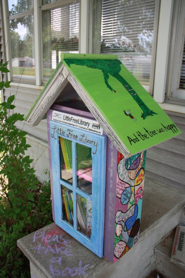 """Yes, a Little Free Library is 'just' a box of books, but that's like saying that a public library is 'just' a building with books. There's obviously a lot more to the equation."""