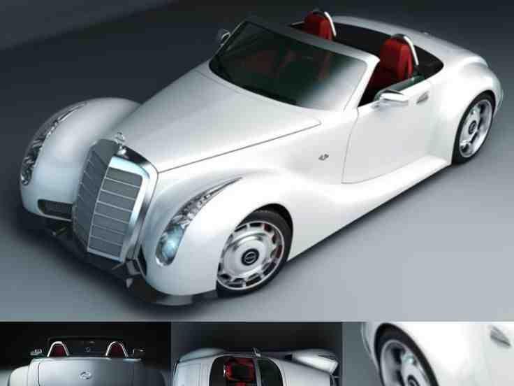 صور سيارات مرسيدس Mercedes من حقبة الخمسينات صورة ١٩ Toy Car Car Hot Rods