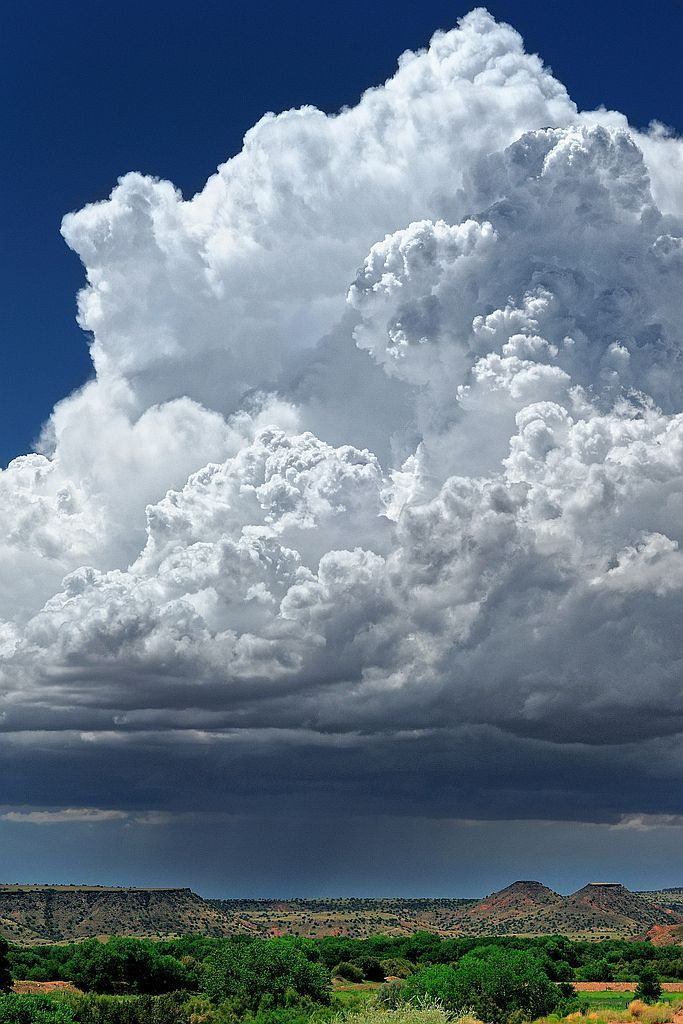 Anyone who loves New Mexico knows that it's impossible to describe the sounds, sights and smells of a sudden thundershower on a late summer afternoon!