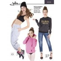 Jalie Pattern 3355 Sweatshirt, Hoodie and Sweat Pants