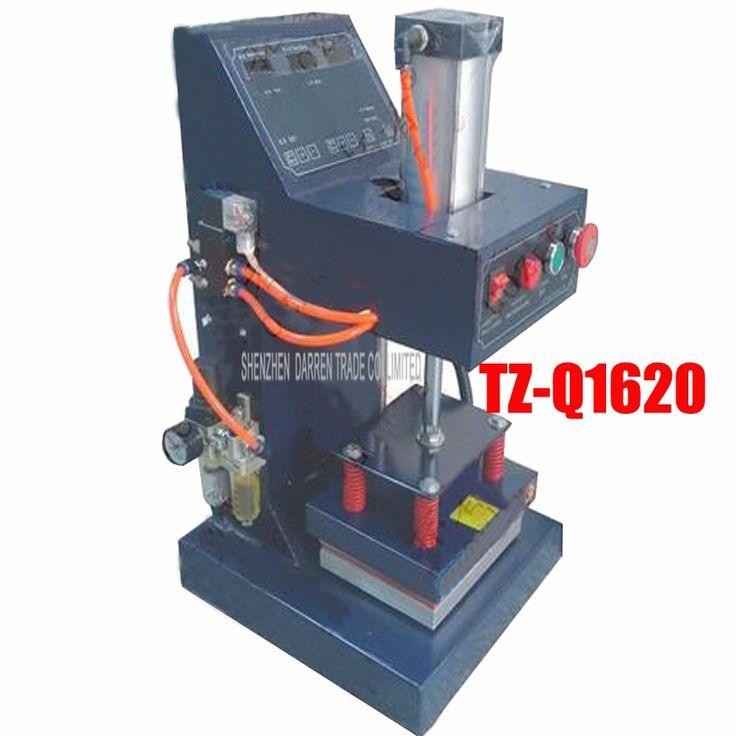 383.80$  Watch here - 1PC TZ-Q1620 iron pneumatic marking machine logo label pyrograph machine pressure pyrograph logo printing machine  #SHOPPING
