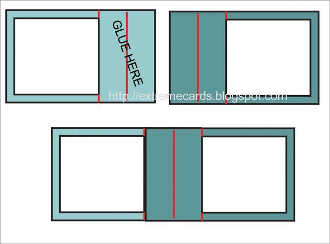 Экстремальные карты и Papercrafting: Sliceform карты Стенд