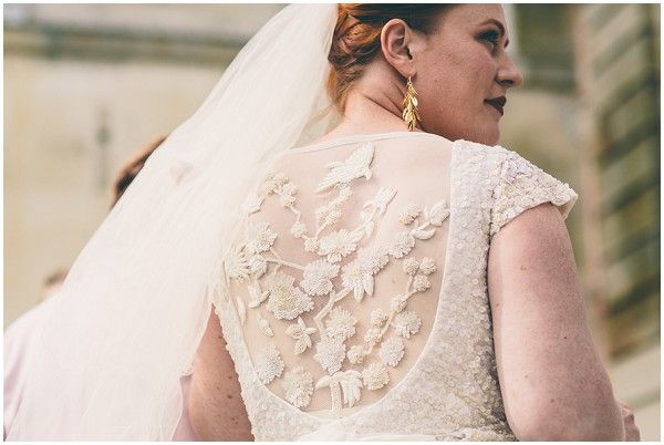 Carla Cosgrove - Founder & Makeup Artist at Candour Store - wedding - France - Australian - eclectic - adventure - vintage -rustic chateau wedding - Karen Willis Holmes - Wil Valor - Samuel Docker Photography - French Wedding Style - lace back wedding dress  | Image by Samuel Docker Photography