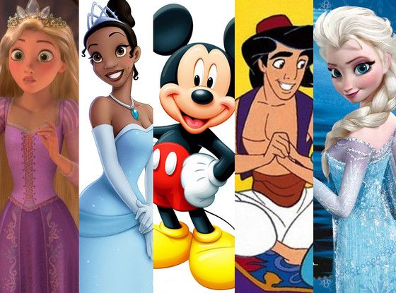 53 Fascinating Facts You Probably Didn't Know About Disney Films  Mickey Mouse, Aladdin, Rapunzel, Tiana, Elsa
