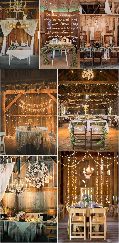 wedding reception at home ideas uk%0A rustic country wedding ideas  barn wedding swetheart table ideas  weddings   countryweddings  barnweddings