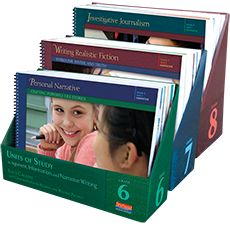 Units of Study in Opinion, Information, and Narrative Writing Elementary Series Bundle, Grades K-5 by Lucy Calkins, Teachers College Reading & Writing Project. A Common Core Workshop Curriculum