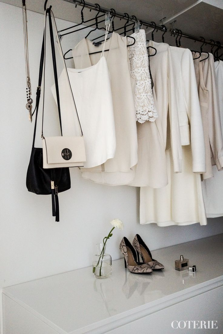 Two friends, one blog driven by a passion for fashion and interior. Join our coterie at www.coterie.fi   #Coterieofficial #Coterie #blog #interior #home #deco #decoration #decor #white #modern #Scandinavian #scandinavianstyle #scandinatiandesign #walkincloset #closet #storage #clothes #fashion