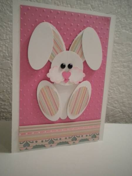 небольших открытки с пасхальным кроликом своими руками эксплуатации моста вышел