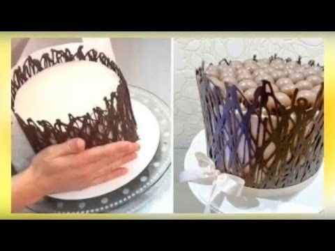 How to Decorate a Cake With Chocolate Shavings
