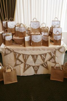 Prizes Table at my daughter's wedding shower.                                                                                                                                                                                 More #BridalShowerFavors
