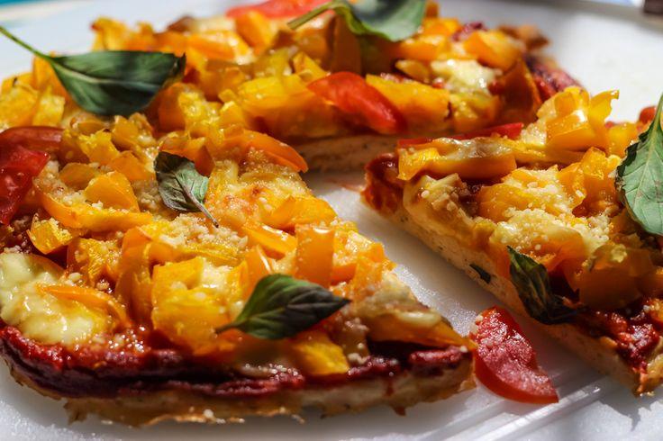 Вкусная диетическая пицца без муки и масла от Леди Калория