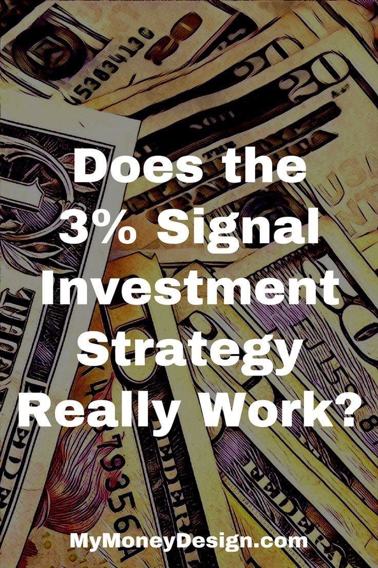 Does The 3 Signal Investment Strategy Really Work Investing