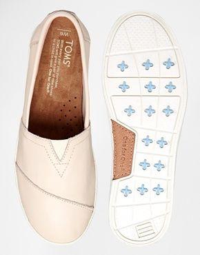 TOMS | Avalon Sneaker Whisper leather, luonnonvalkoinen | Putiikki Rannalla