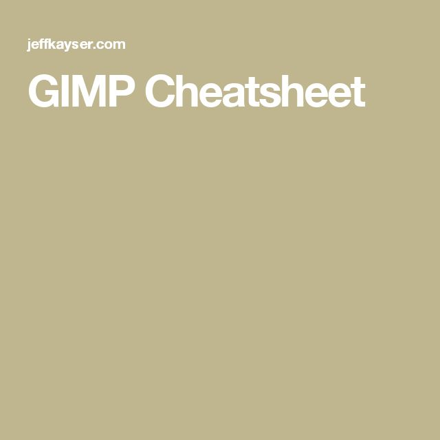 11 best bioinformatics images on pinterest blouse buy shirts and cheatsheet list of keybindings for gimp the free image editing program fandeluxe Images