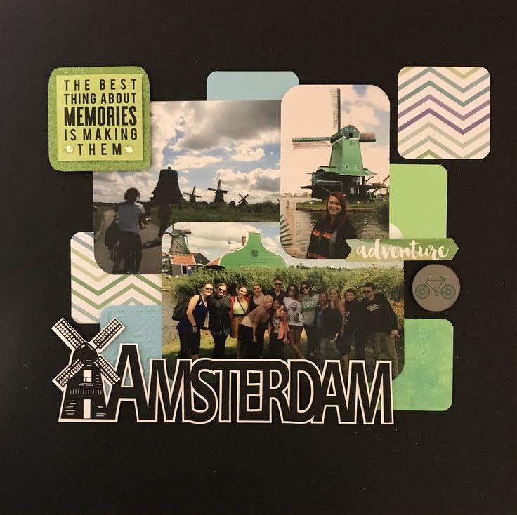 Bike Tour Through Amsterdam Scrapbookcom The
