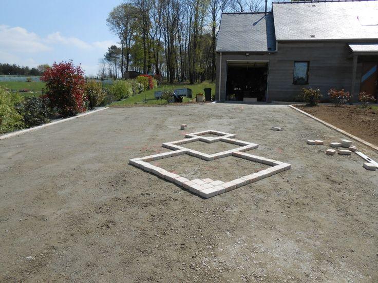 1000 id er om terrasse en pav p pinterest terrasse pav pav s exterieur - Pave pour allee garage ...