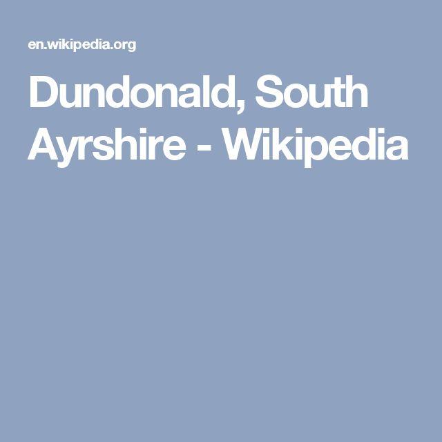 Dundonald, South Ayrshire - Wikipedia