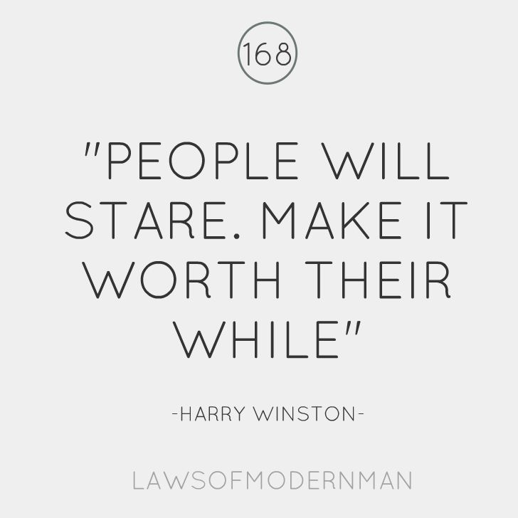 Harry Winston genius