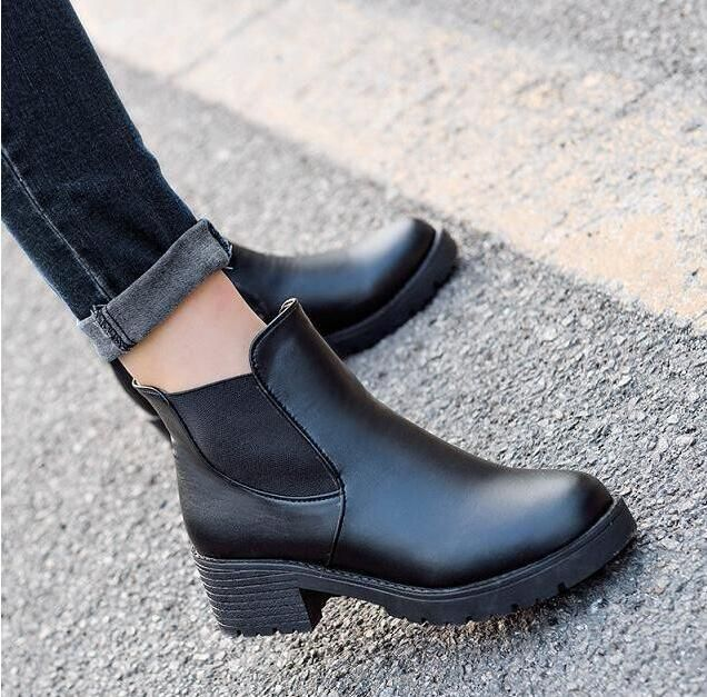 =>Sale on2016 autumn and winter Fashion boots Round head thick bottom PU leather waterproof woman Martin snow boots women shoes F0392016 autumn and winter Fashion boots Round head thick bottom PU leather waterproof woman Martin snow boots women shoes F039Cheap Price Guarantee...Cleck Hot Deals >>> http://id354276091.cloudns.hopto.me/32738411199.html images