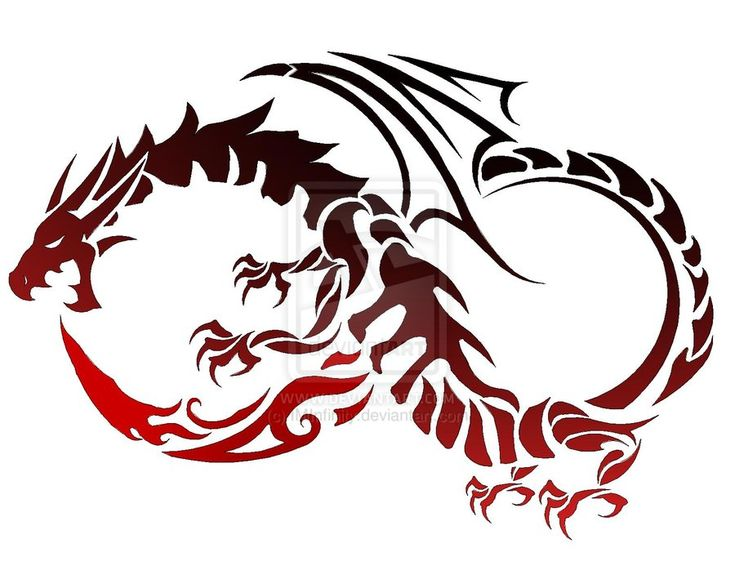 Dragon Symbols Tattoos Dragon Tattoo by Iminfinity
