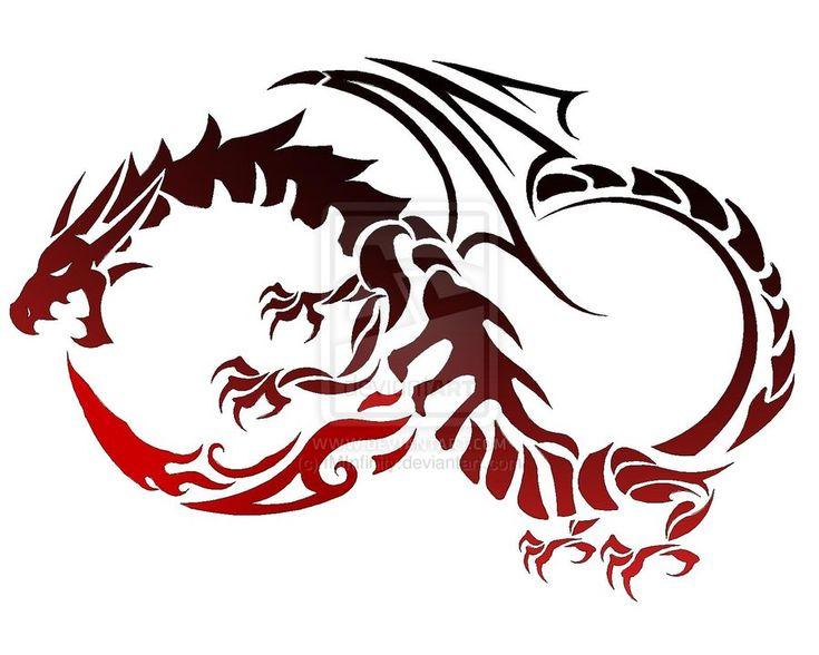 Dragon Tattoo by ~IMInfinity on deviantART