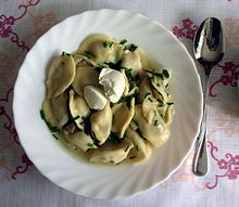WIKI of Russian Cuisine with list of dishes under See Also