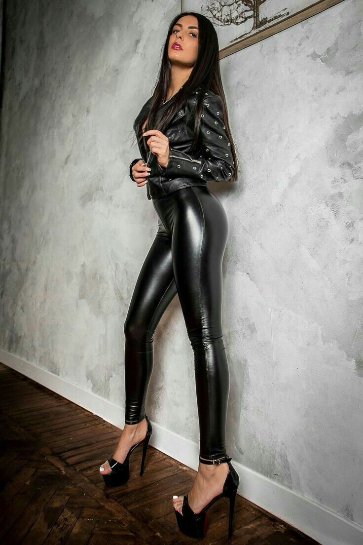 0dab54c0f69a06 Lederlady ❤ | Leggings1 in 2019 | Leather, Leather pants outfit, Leather  leggings