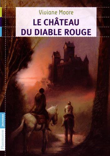 Le château du diable rouge par Viviane Moore #MoyenAge #policier