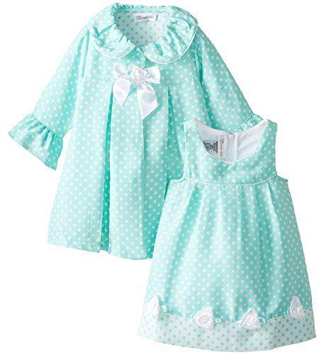 Bonnie Jean Little Girls Coat Dress Aqua Dot (2T) Bonnie Jean http://www.amazon.com/dp/B00R9K71TC/ref=cm_sw_r_pi_dp_YlDbvb02VW3BH