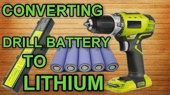 Cordless drill battery fix - YouTube
