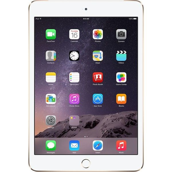 iPad mini 3 Apple Store ($399) ❤ liked on Polyvore featuring electronics, tech, 44. electronics., 49. electronics. and electronics&cases.